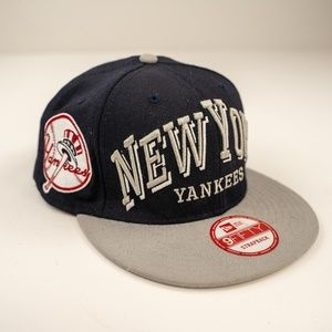 New York Yankees Blue 9Fifty New Era Strapback Hat